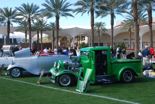 Car show attendees can wander around and admire the 1,000-plus classic, hot rod and exotic cars on display over 20 acres.