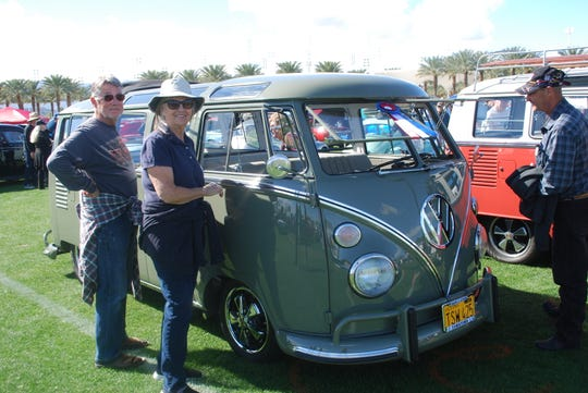 This Volkswagen van was among the winners at the 2019 event.
