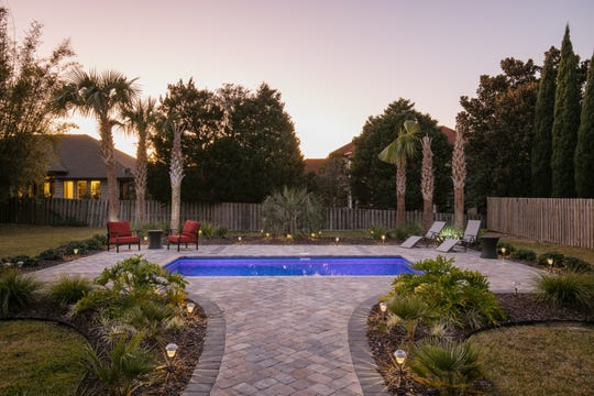 The pool and fenced backyard is your private oasis.