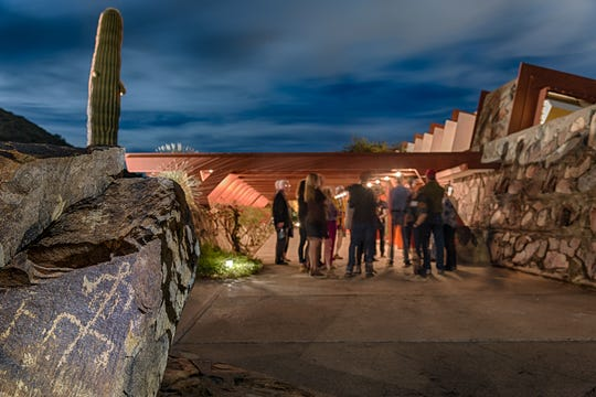 Taliesin West will provide wine, chocolate and stunning views at their Valentine's Day event on Feb. 14.