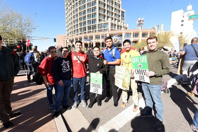 The Arizona For Life March was on January 18, 2020.