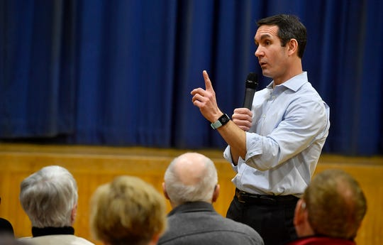 State Auditor General Eugene DePasquale holds his first campaign event in York at Crispus Attucks, Tuesday, January 21, 2020. DePasquale is running as a democratic challenger to Congressman Scott Perry.John A. Pavoncello photo