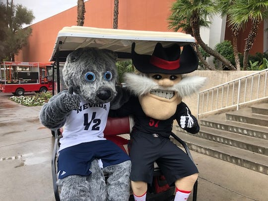 The University of Nevada, Reno was using social media to stress this is a friendly rivalry when the Wolf Pack and the Rebels face off in basketball at 8 p.m.