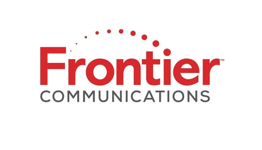 Frontier Communications logo.