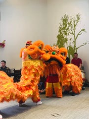 Lion Dancers of Thanh Tinh Temple