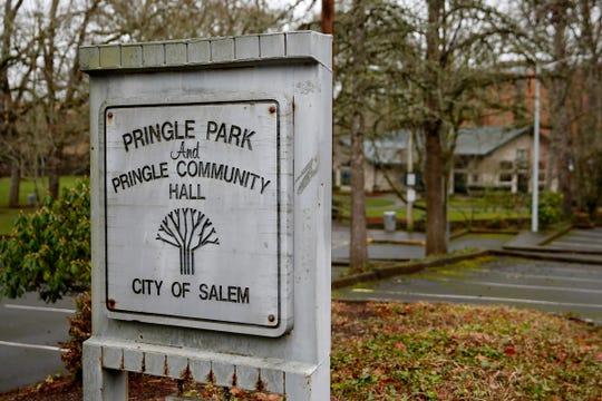 Pringle Community Hall in Salem on Jan. 22, 2020.