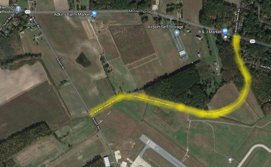 A portion of Walston Switch Road, stretching between Airport and Mount Hermon Road in Wicomico County, Maryland, will likely close permanently, according to the Office of the Executive. The decision has yet to be finalized, but the plan comes as new construction lies ahead at the airport.