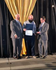 Beau Hays was named Bossier Chamber's 2019 Business Person of the Year.