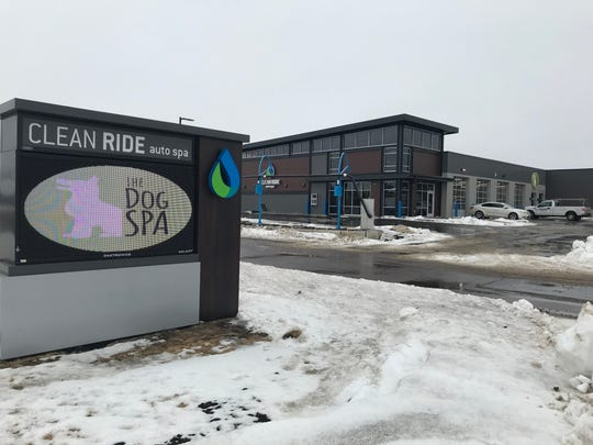 Clean Ride Auto Spa in southern Sioux Falls is set to open in early February and will offer a range of options for drivers who want a clean car.