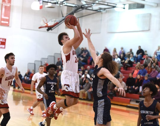 Riverheads' Grant Painter finished with 20 points Tuesday night in a loss to Staunton.