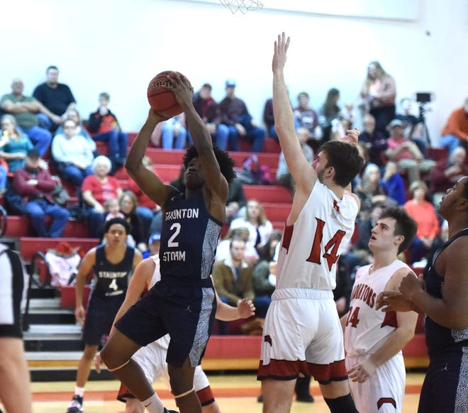 Javon Battle and the Staunton Storm take a big jump in this week's high school basketball rankings.