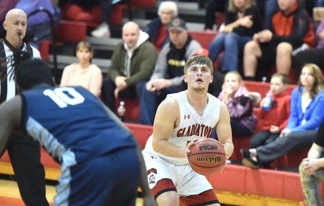 Elijah Dunlap is the point guard on a talented Riverheads basketball team.