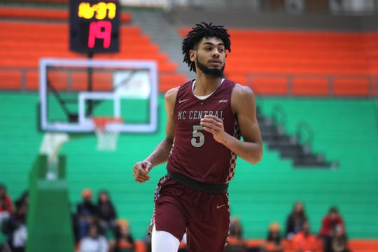 Devin Palmer is developing into a key contributor for North Carolina Central. The 2019-20 season marks his first year with the team after transferring from Tallahassee Community College.
