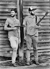 Old-time music duo Flathead String Band plays good ol' tunes at 8 p.m. Saturday at Blue Tavern.