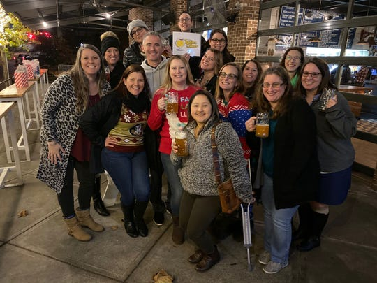 """Five craft-beer-loving women aren't just friends now - they've formed a well-organized Facebook group for women just like them called the """"TLH Ladies That Beer."""""""