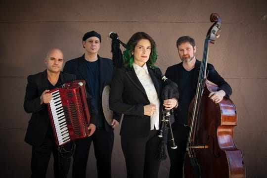 Cristina Pato returns with her bagpipe and her quartet for an Opening Nights performance at 7:30 p.m. Thursday in Opperman Music Hall.