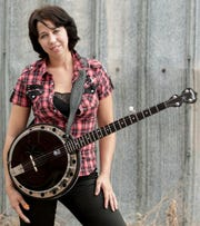 Mean Mary works her banjo magic at 8 p.m. Friday at Blue Tavern