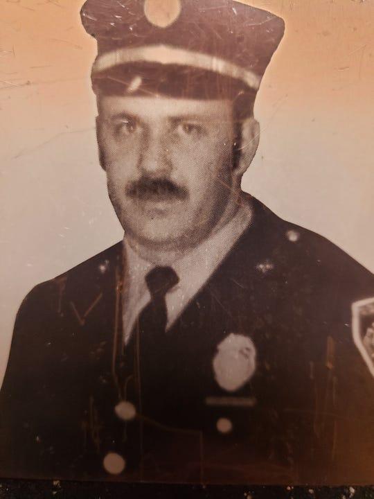 Firefighter Don Johnson, in 1978.