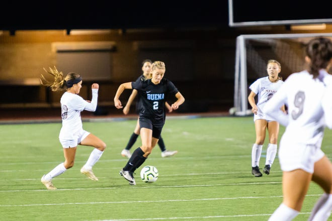 After sitting out her junior year to play for the U.S. Soccer's Development Academy, Marissa Saucedo led the county in goals in her senior season at Buena.