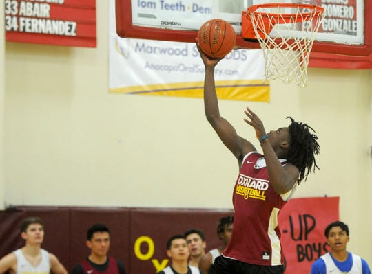 Kai Johnson has matured into an all-around player in his junior season, helping Oxnard win 24 of its first 25 games.