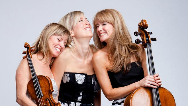 Grammy-nominated Eroica Trio of Sara Parkins on violin,  Erika Nickrenz on piano and Sara Sant'Ambrogio on cello will join the  New West Symphony Jan. 25 and 26  to celebrate Beethoven's 250th birthday.