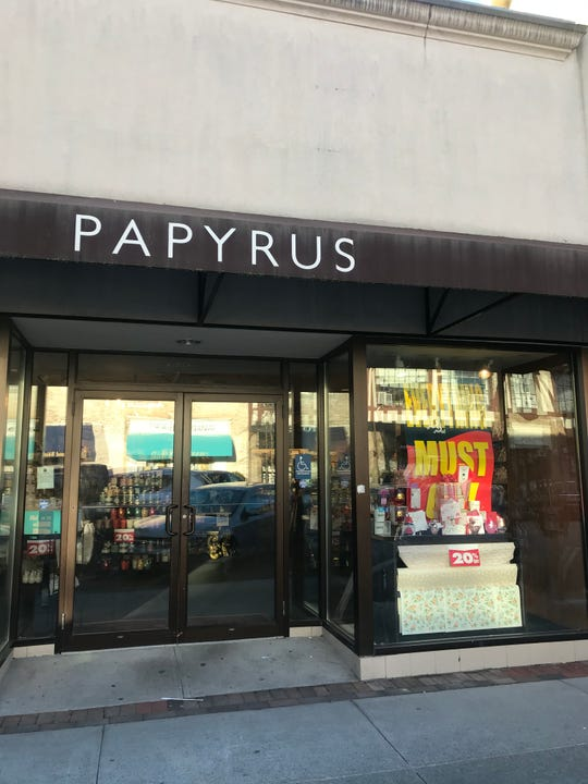 The Papyrus location in Bronxville on Jan. 21.