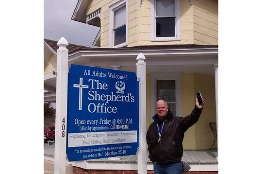 Jim Martin spends most of his time volunteering at The Shepherd's Office in Georgetown.