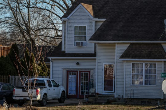 """Neighbors say the Elkton home, listed as the residence for Brian Lemley Jr., was often busy with a host of cars coming and going. Federal agents arrested Lemley on Thursday and say he was part of a """"violent"""" white supremacist group. A man inside the home told The News Journal Friday that it was not Lemley's residence."""