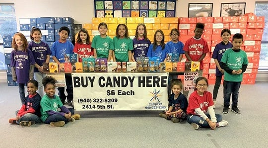 Camp Fire candy sales begin Jan. 23. All products are $6 per box.