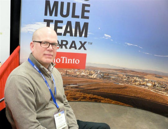 Borax  has been mined in Death Valley for over 100 years by the Rio Tinto company who are again attending farm show,
