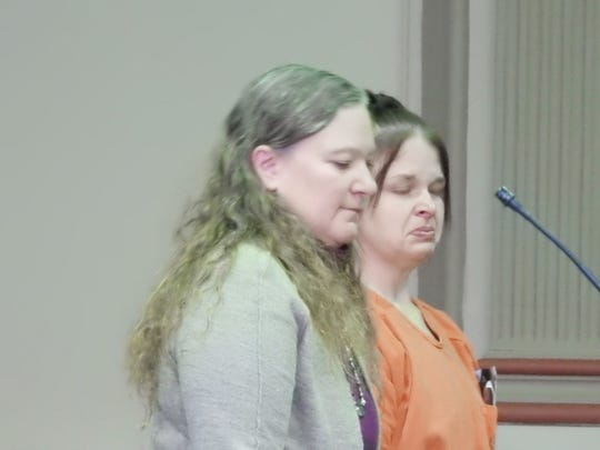 Amanda Umbleby, 36, represented by Lisa Tome, sobbed during court Wednesday begging for the opportunity to prove she has changed from the person she was on Oct. 14 when she stabbed her boyfriend in the neck during a dispute over drugs.