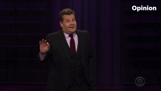 Corden: Impeachment trial will be as legit as celebrity college application