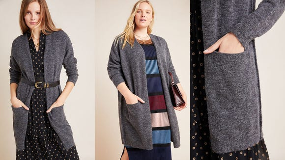 The only cardigan you'll ever need.