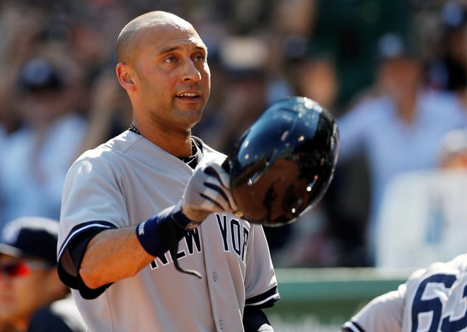 Derek Jeter joins Larry Walker in the 2020 Baseball Hall of Fame class.