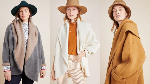 Live the Danish life with this oversized cardi.
