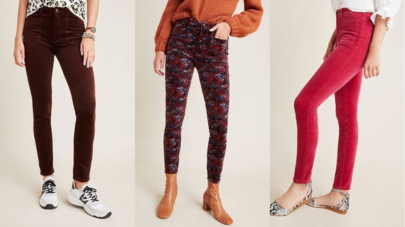 These vibrant corduroy pants are the perfect way to launch into the new year.