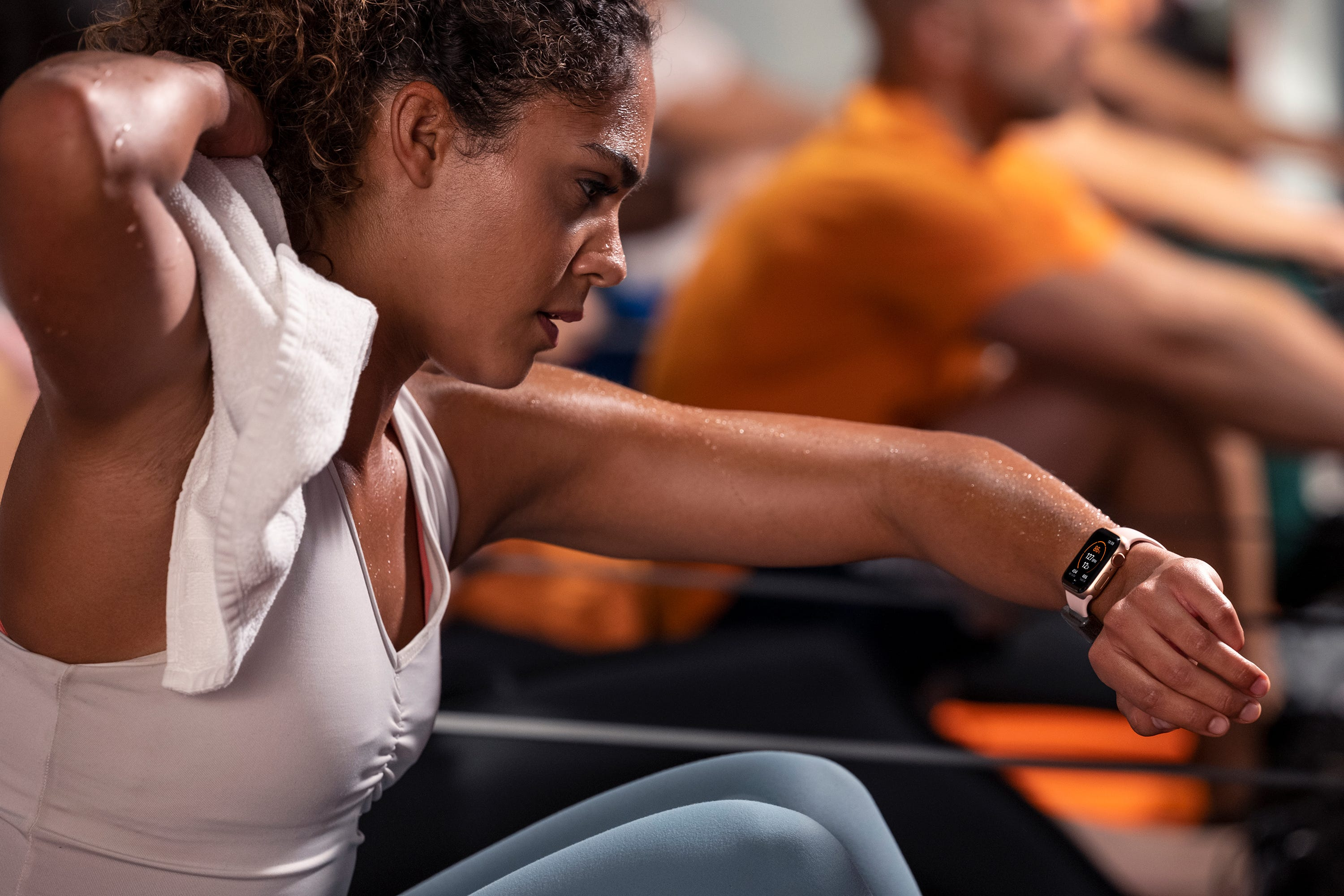 Connect an Apple Watch to help pay for your gym membership by working out
