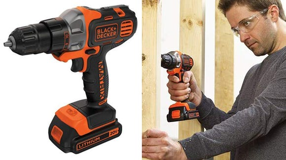 A cordless drill is essential for any home.