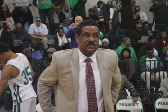 Peabody Magnet High School basketball coach Charles Smith is the state's leader in wins with 1,074 and has eight LHSAA titles as a head coach.