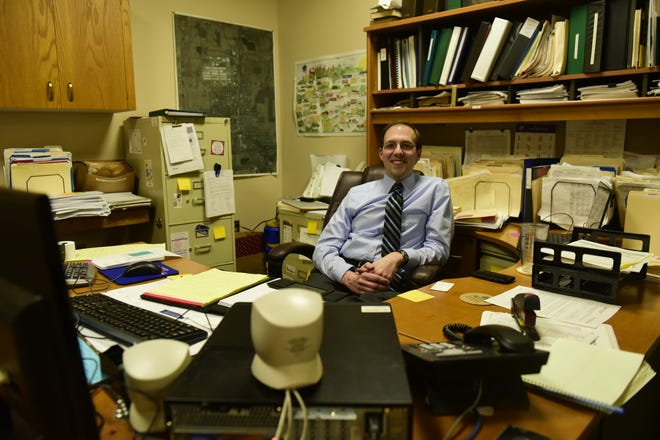 Brian Crum is settling into his role as Shelby Finance Director.