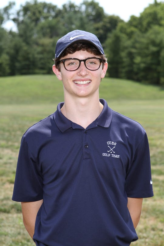 Cincinnati Country Day junior golfer Sam Pettengill won a sectional championship, then finished third at districts and state.