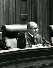 Sixth circuit court of appeals Judge Nathaniel R. Jones, Jan. 20, 1989.