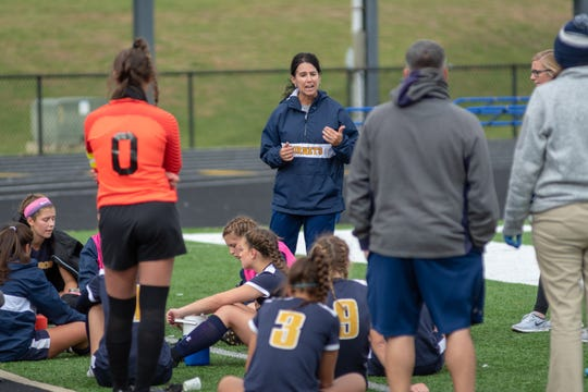 Monroe head girls soccer coach Stacey Williams led the Hornets to a district championship and a trip to the regional final. She was named the SWBL's Coach of the Year.