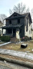 The home at 62 Charles St., Metuchen was left uninhabitable by a Wednesday night fire.