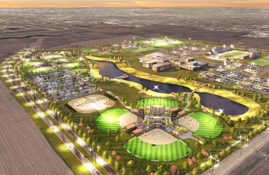 "The Waukee Betterment Foundation and City of Waukee plans a new community park and sports complex named ""Triumph Park."" The multi-million dollar project includes 12 ball fields, a playground and pond with fishing access."