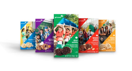 Girl Scouts of Greater Iowa sold about 1.7 million boxes of cookies in 2019, with Thin Mints the most popular cookie.