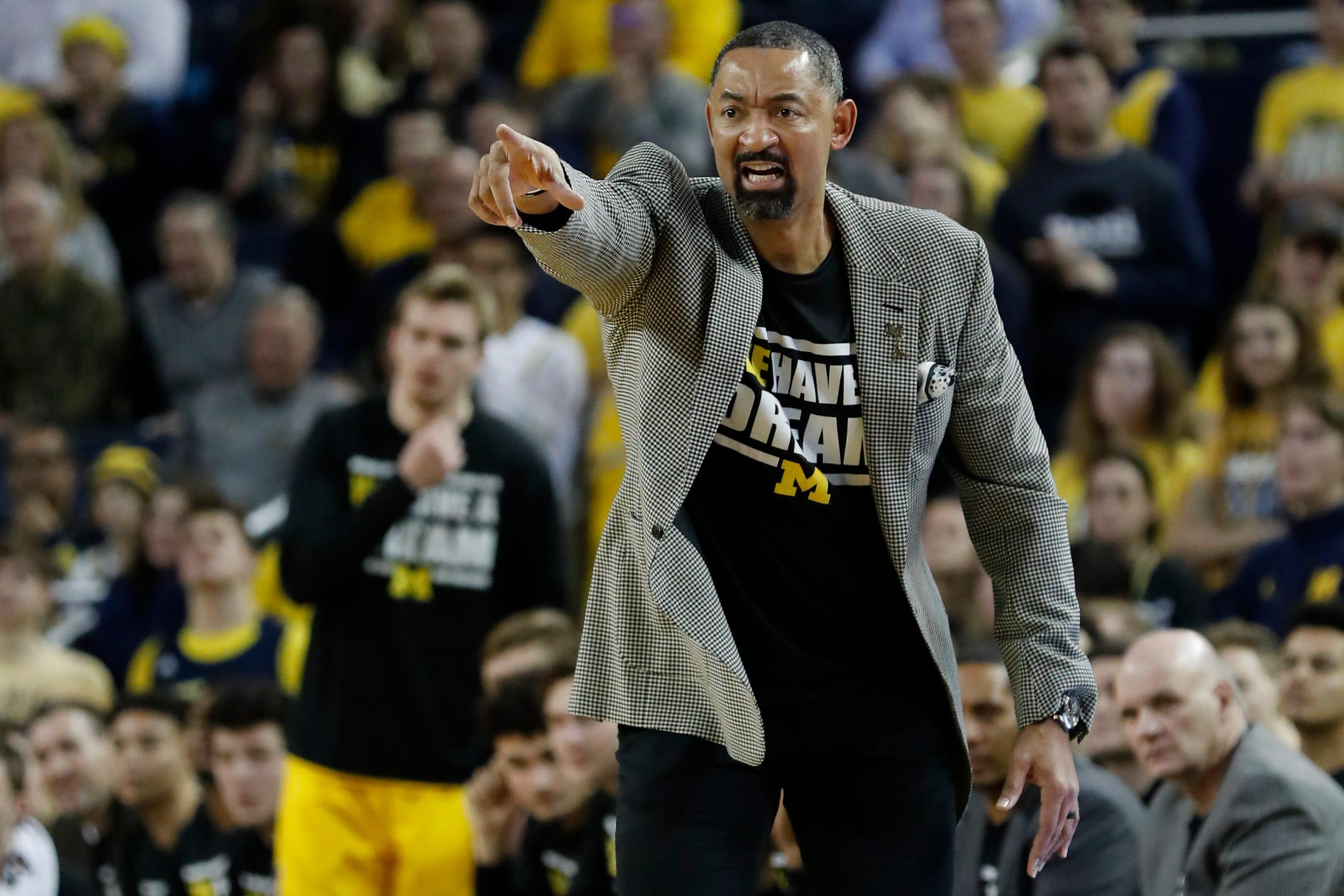 NBA teams interested in Michigan basketball coach Juwan Howard