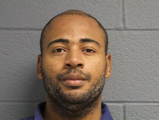 Carlos A. Terry, 38, of Detroit is shown in a Michigan Department of Corrections photo. The formerly incarcerated man was arrested again on Jan. 21, 2020, in the same home where an 85-year-old was found slain.