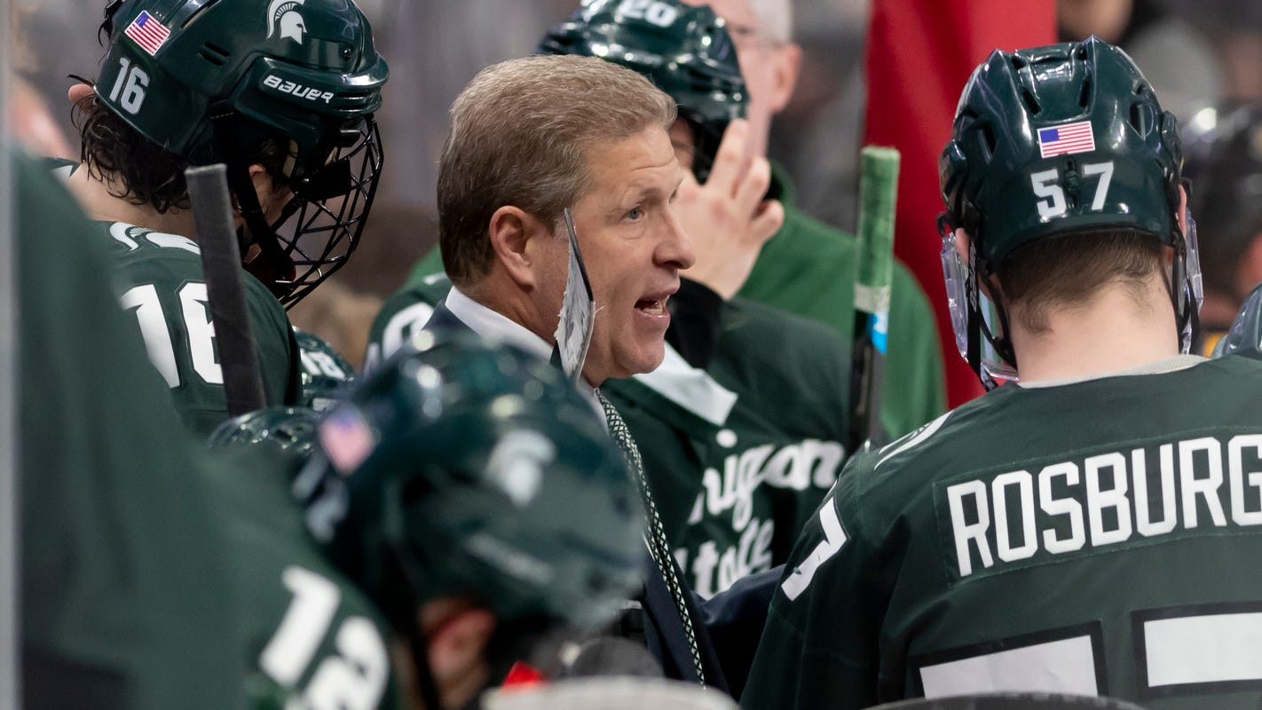 Coach Danton Cole enjoys coming 'full circle' for surging Michigan State hockey