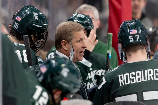 Coach Danton Cole and the Michigan State hockey team play host to Penn State in a key weekend series at Munn Ice Arena.